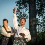"Mercutio in ""Romeo and Juliet"" with Vermont Shakespeare"