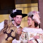 "Aramis in ""The Three Musketeers"" with Marin Shakespeare"